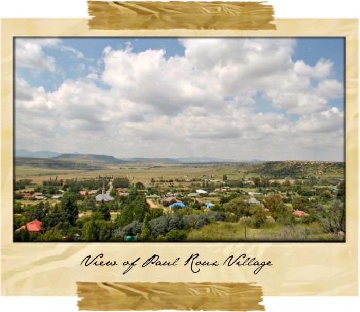 View of Paul Roux Village
